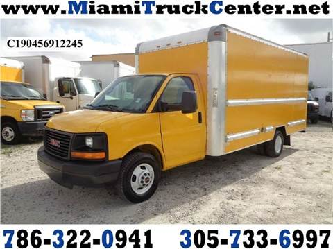 2012 Chevrolet Express Cutaway for sale in Hialeah, FL