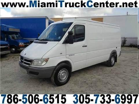 2006 Dodge Sprinter Cargo for sale in Hialeah, FL