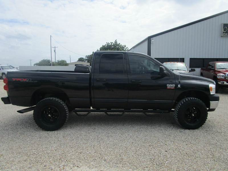 2008 Dodge Ram Pickup 2500 SLT 4dr Quad Cab 4WD SB - Valley Mills TX