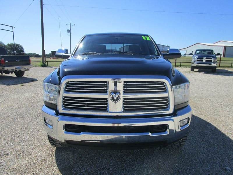 2012 RAM Ram Pickup 2500 4x4 Laramie 4dr Crew Cab 6.3 ft. SB Pickup - Valley Mills TX