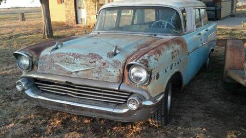 1957 Chevrolet Wagon for sale in Pittsburg, KS