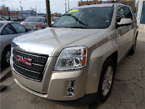 used gmc terrain for sale in chicago il. Black Bedroom Furniture Sets. Home Design Ideas