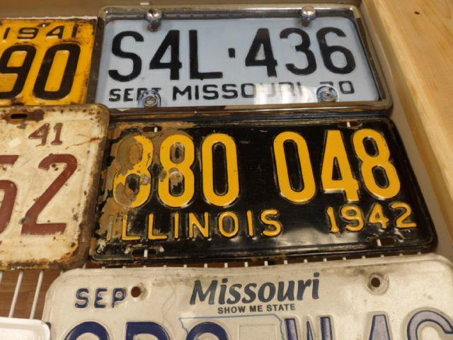 2013 CLASSIC & COLLECTIBLE License Plates  - Fenton MO