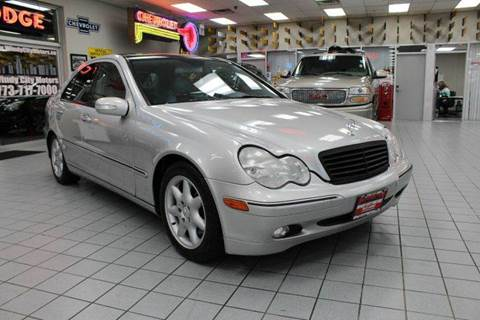 Mercedes benz c class for sale chicago il for Mercedes benz north ave chicago