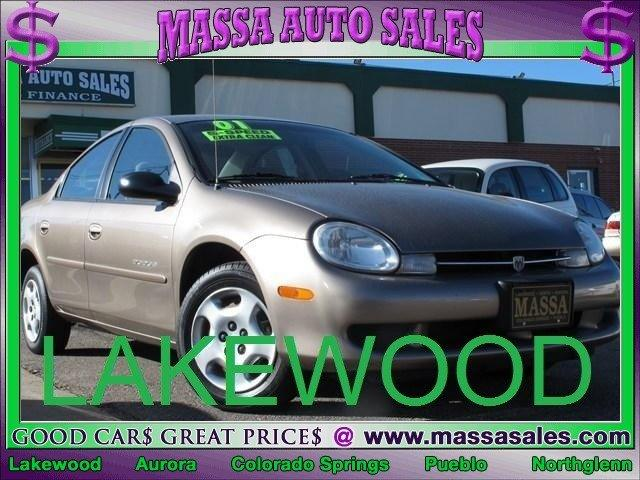 2001 Dodge Neon for sale