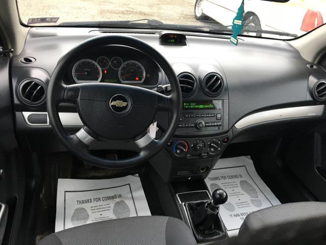 2009 Chevrolet Aveo LS 4dr Sedan - Weirton WV