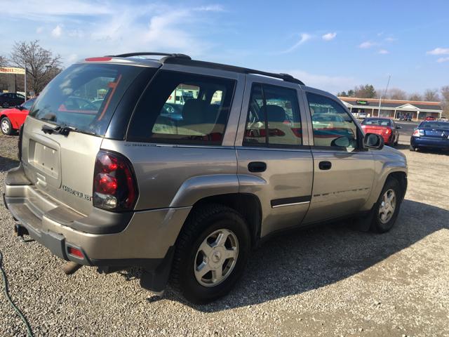 2002 Chevrolet TrailBlazer  - Weirton WV
