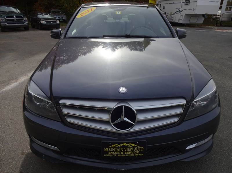 2011 mercedes benz c class awd c300 sport 4matic 4dr sedan for Mercedes benz mountain view