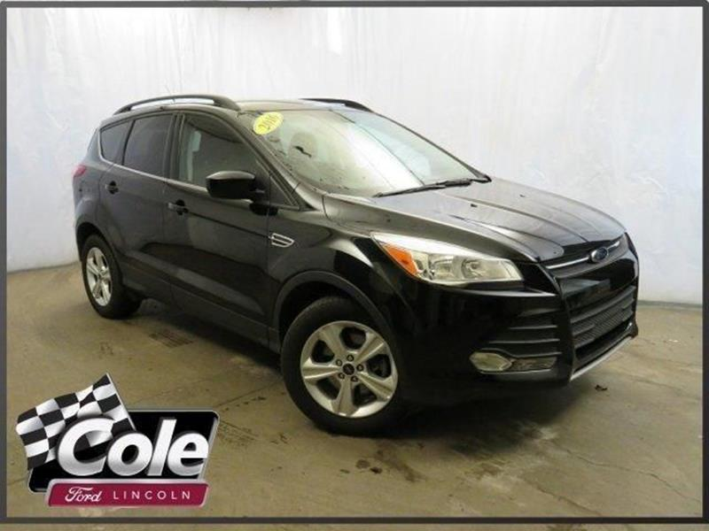 2016 ford escape for sale in kalamazoo mi. Black Bedroom Furniture Sets. Home Design Ideas