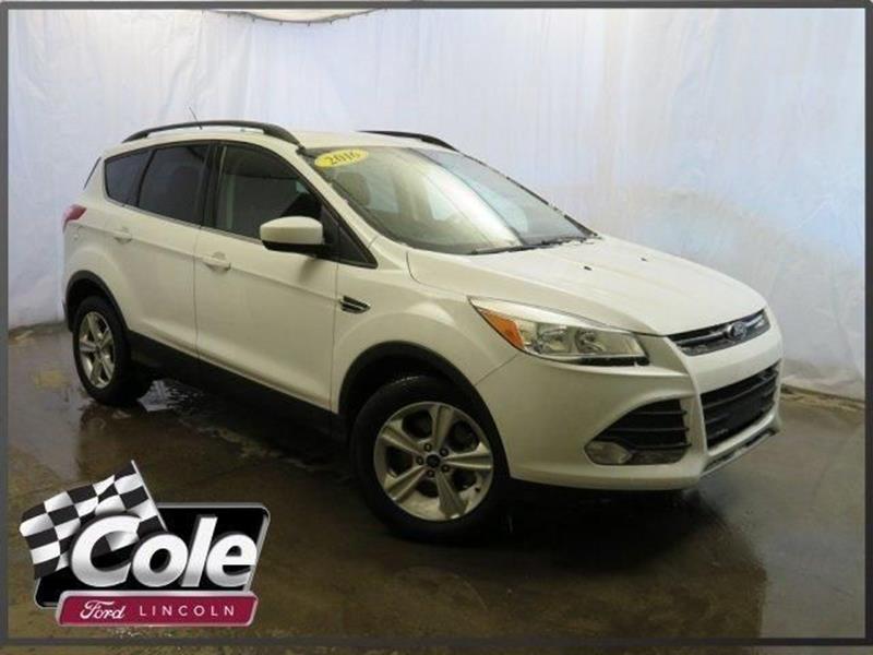 2016 Ford Escape For Sale In Kalamazoo Mi