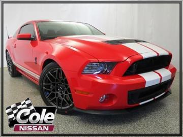 2013 Ford Shelby GT500 for sale in Kalamazoo, MI