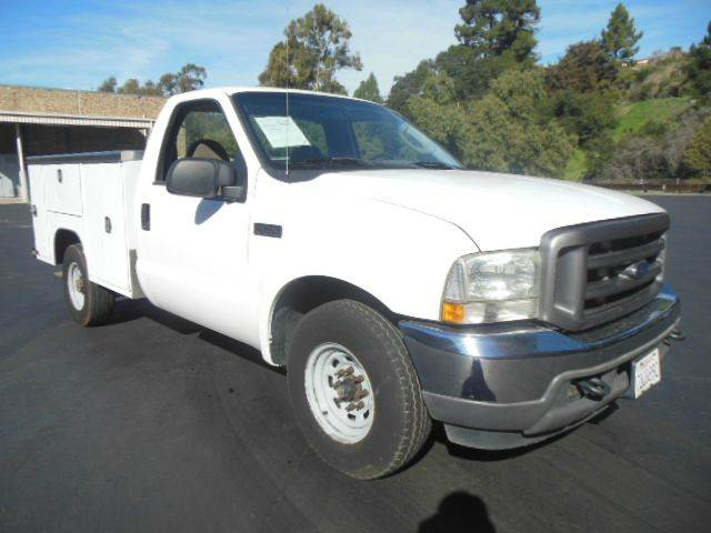 2004 ford f250 sd tru 8ft utility service truck 151 in for Royal motors san leandro