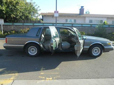 1997 Lincoln Town Car for sale in San Leandro, CA