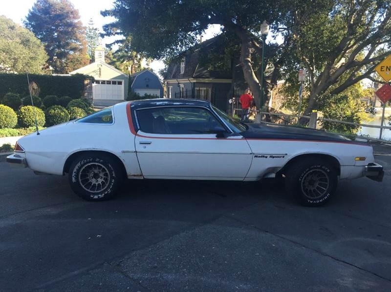 1977 Chevrolet Camaro Rally Sport In Berkeley Ca