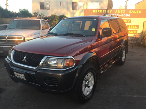 2002 Mitsubishi Montero Sport for sale in Berkeley, CA