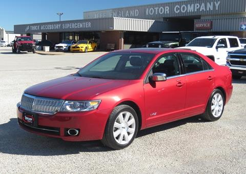 2008 Lincoln MKZ for sale in Cleburne, TX
