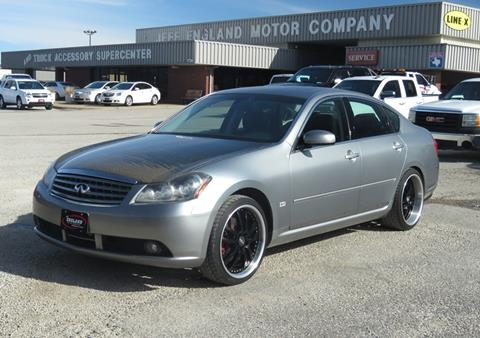 2006 infiniti m35 for sale in texas. Black Bedroom Furniture Sets. Home Design Ideas