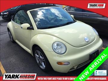 2005 Volkswagen New Beetle for sale in Toledo, OH