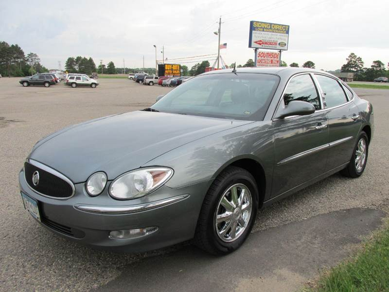 2005 buick lacrosse cxl 4dr sedan w front and rear head. Black Bedroom Furniture Sets. Home Design Ideas