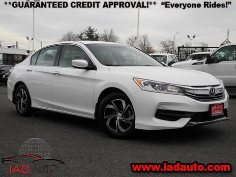 2016 Honda Accord for sale in Laurel, MD
