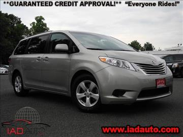 2015 Toyota Sienna for sale in Laurel, MD