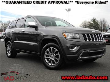 2014 Jeep Grand Cherokee for sale in Laurel, MD
