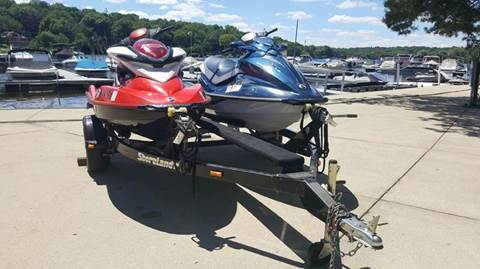 2010 Sea-Doo GTI and RXP
