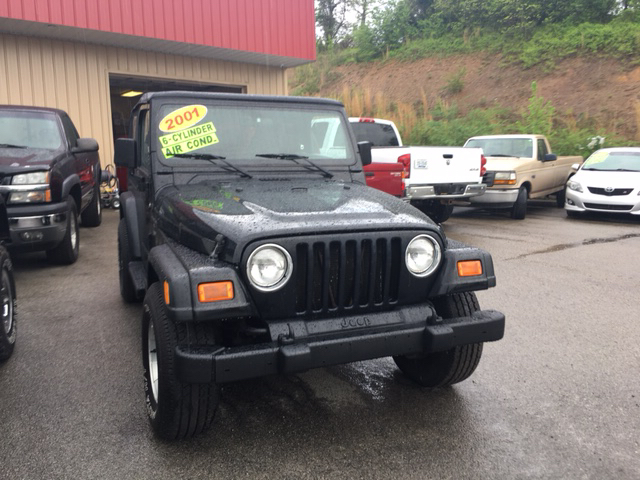 2001 Jeep Wrangler Sport 4WD 2dr SUV - London KY