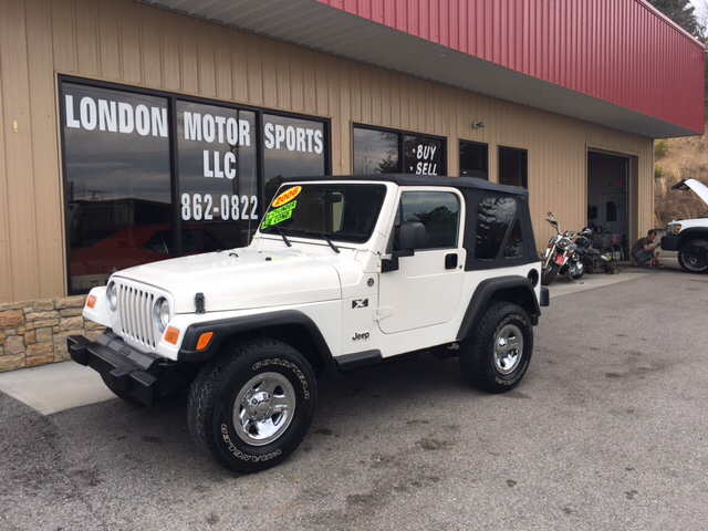 2006 Jeep Wrangler X 2dr SUV 4WD - London KY