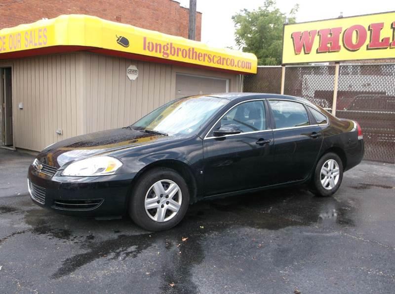 2008 Chevrolet Impala LS 4dr Sedan w/ roof rail curtain delete - Cleveland OH