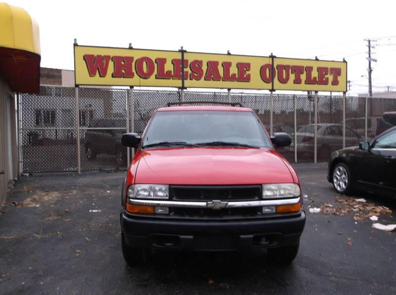 2003 Chevrolet S-10 4dr Crew Cab LS 4WD SB - Cleveland OH