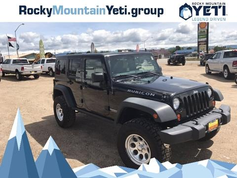 2011 Jeep Wrangler Unlimited for sale in Pinedale, WY