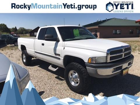 2000 Dodge Ram Pickup 2500 for sale in Pinedale, WY