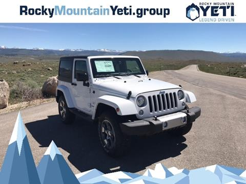 2017 Jeep Wrangler for sale in Pinedale, WY