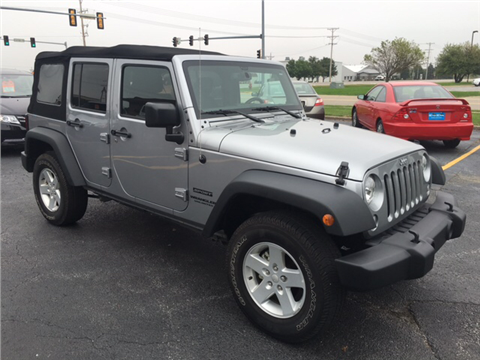 2015 Jeep Wrangler Unlimited for sale in Eldridge, IA