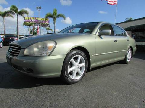 2002 Infiniti Q45 for sale in West Palm Beach, FL