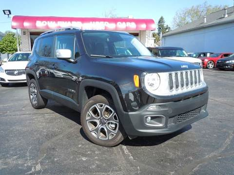 used 2016 jeep renegade for sale michigan. Black Bedroom Furniture Sets. Home Design Ideas