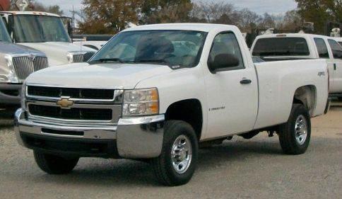 2009 Chevrolet Silverado 2500 Work Truck 4x4 Pickup