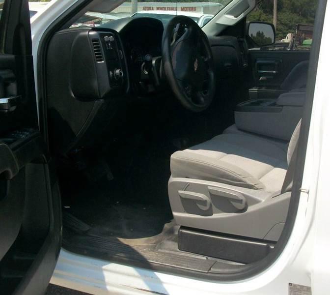 2015 Chevrolet Silverado 2500HD 4x4 Work Truck 4dr Crew Cab LB - Atoka OK