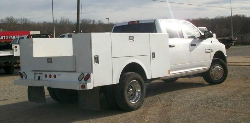 2014 RAM Ram Pickup 3500 4x4 Tradesman 4dr Crew Cab 8 ft. LB Pickup - Atoka OK
