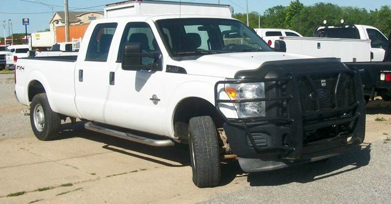 2011 Ford F-250 Super Duty 4x4 XL 4dr Crew Cab 8 ft. LB Pickup - Atoka OK
