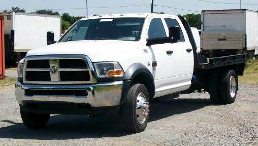 2012 RAM 4500 FLATBED  - Atoka OK