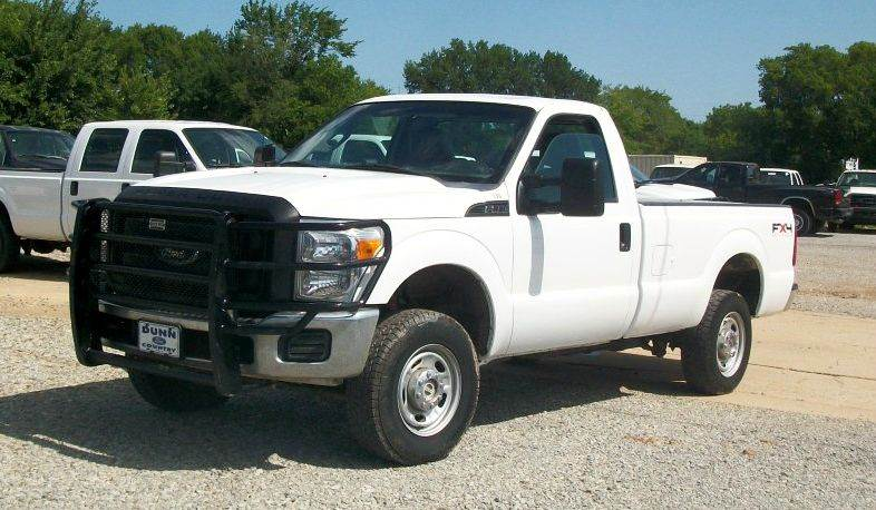 2011 Ford F-250 Super Duty 4x4 XL 2dr Regular Cab 8 ft. LB Pickup - Atoka OK