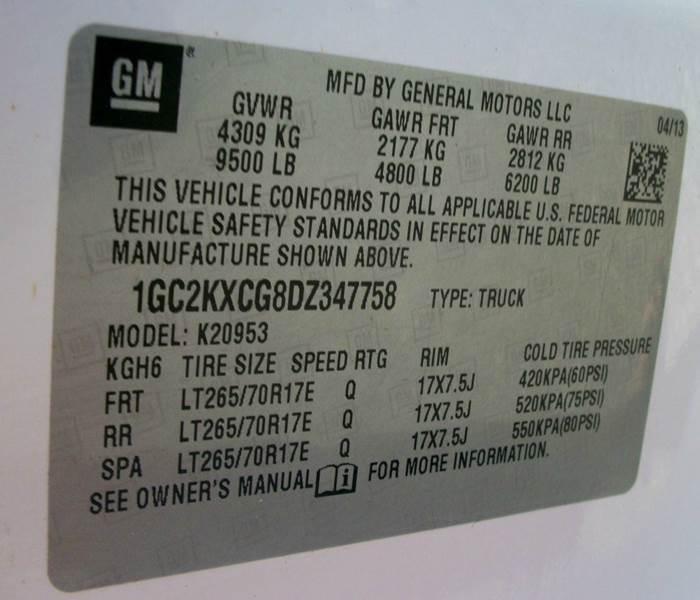 2013 Chevrolet Silverado 2500HD 4x4 LT 4dr Extended Cab LB - Atoka OK