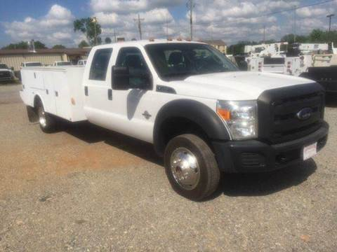 2014 Ford F-450 UTILITY BED