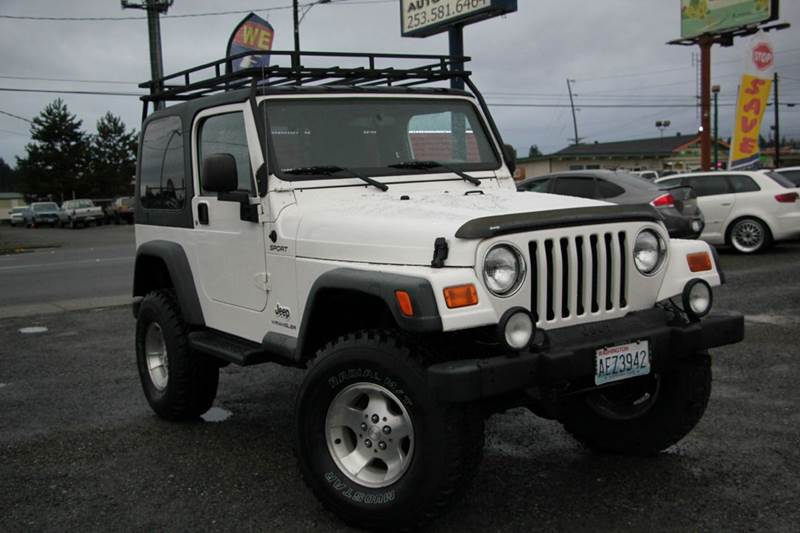 2003 jeep wrangler for sale in tacoma wa. Cars Review. Best American Auto & Cars Review