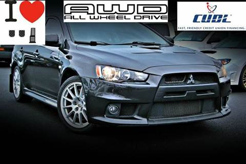 2010 Mitsubishi Lancer Evolution for sale in Tacoma, WA