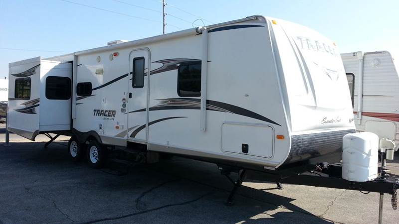 2013 PRIME TIME TRACER EXECUTIVE SERIES 3100RET // 3 X SLIDE // REAR LIVING //