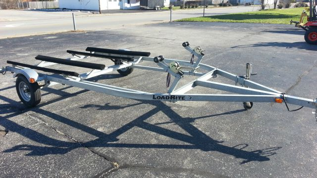 2011 LOAD RITE DOUBLE PWC JET SKI TRAILER WV2200L -- GALVANIZED