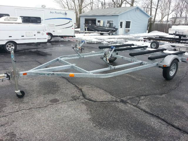 2012 MAGIC TILT DOUBLE  PWC TRAILER GALVANIZED //  TORSION AXLE